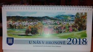 Kalendář 2018 - U nás v Hronově
