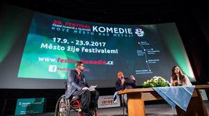 Festival komedie 2017 - 17. 9. slavnostní zahájení festivalu Kino 70