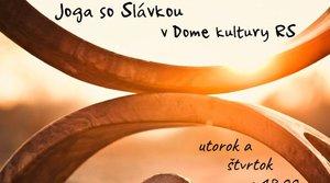 Joga so Slávkou