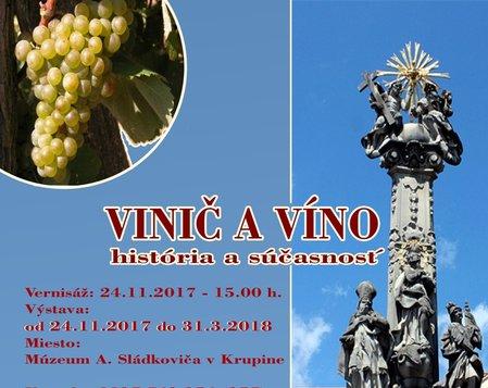 Vinič a víno
