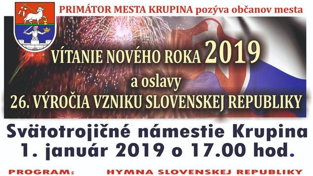 Vítanie nového roka 2019