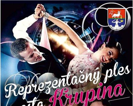Reprezentačný ples mesta Krupina - ZRUŠENÝ