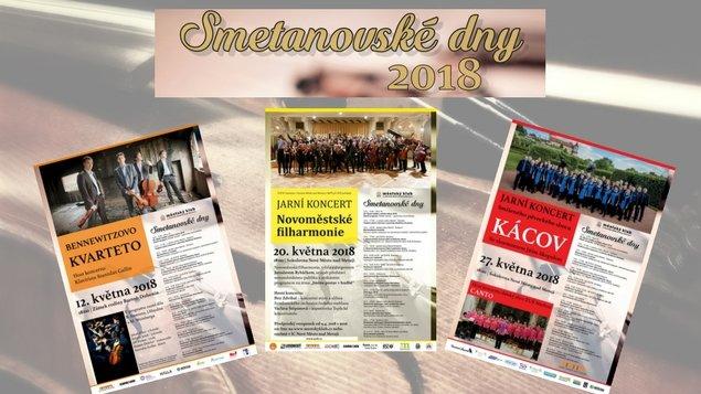 Smetanovské dny 2018 - předprodej od 3. dubna