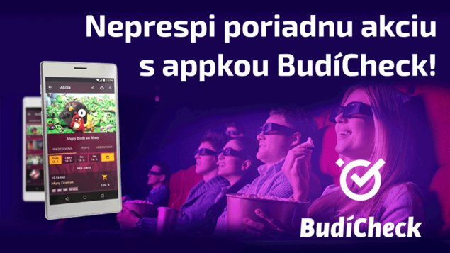 Checkuj program Tvojho kina v mobile - už aj pre iOS