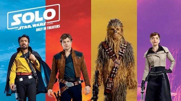 Co si dát  23/5 půlnoční premiéru snímku Solo: Star Wars Story??