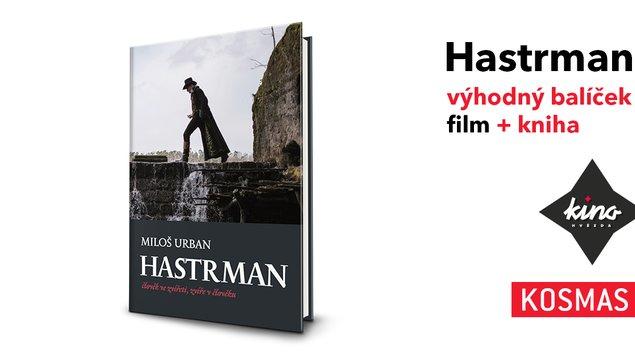 HASTRMAN BALÍČEK kniha+film