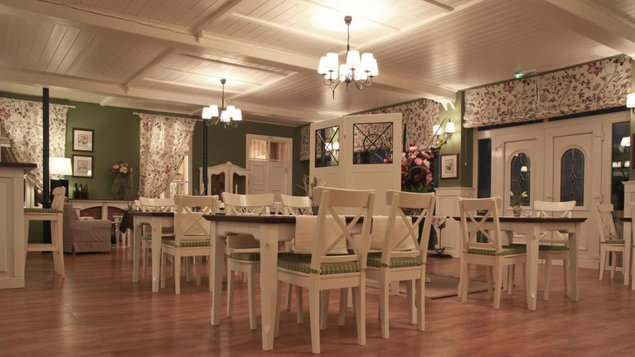 Biela hus - kaviareň, vináreň a reštaurácia