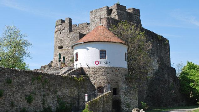 Rotunda na hrade