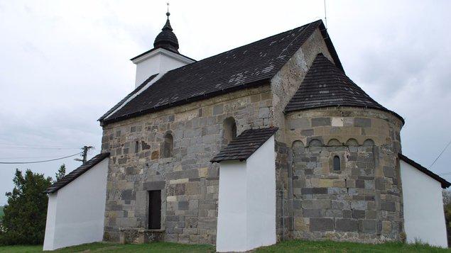 Romanique style chapel in Kalinčiakovo
