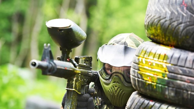 Paintball a streľba