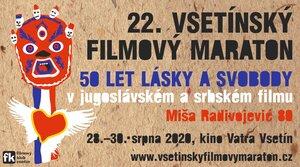 Vsetínský filmový maraton bude 28.-30. srpna