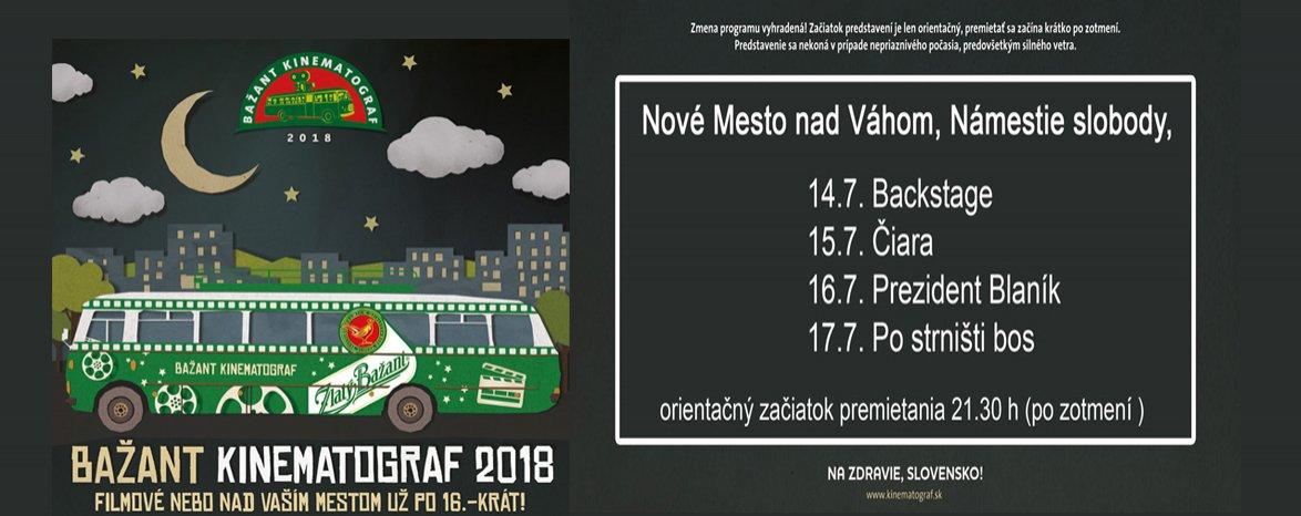 14.,15.,16.,17.7. Bažant kinematograf 2018