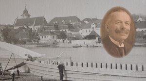 Stavba dřevěných nákladních lodí v loděnici Jan Šílený v Týně nad Vltavou - Václav Šílený, Rudolf Ko