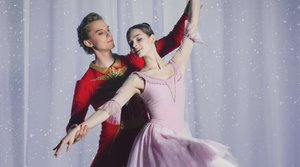 Louskáček z Bolšoj baletu v Moskvě  v neděli 22. 12.