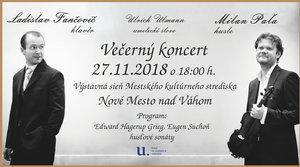 27.11.2018 VEČERNÝ KONCERT
