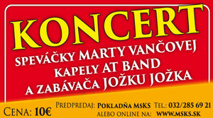 28.1.2019 Koncert Marty Vančovej a AT Band