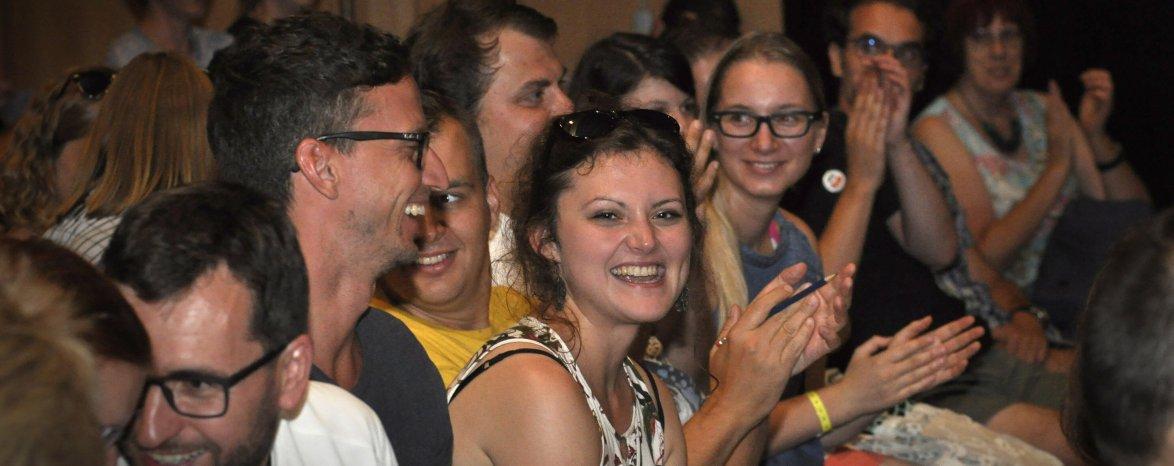 Vítání účastníků seminářů