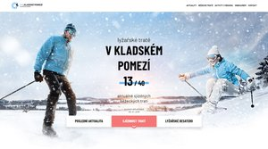 Kladské pomezí má nový web pro milovníky zimních sportů