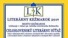Literárny Kežmarok 2019 - vyhlásenie celoslovenskej literárnej súťaže